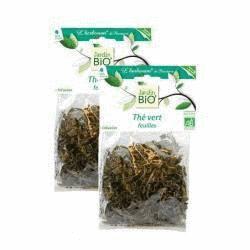 Thé vert bio en vrac - 100 g - 2 x 50 g