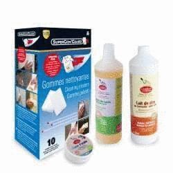 Nettoyer sol vinyle et lino - Pack Toutpratique