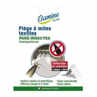 Piège à mites textiles