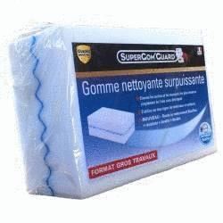 Eponge gomme magique Super'Gom Guard Format XXL - éponge renforcée grand format