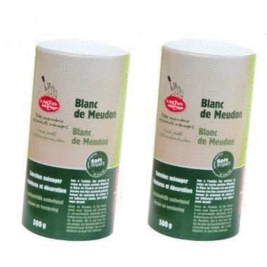 Blanc de meudon - 2 tubes de 500g La Droguerie écologique
