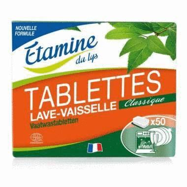 Pastilles lave-vaisselle Étamine du lys 50 doses