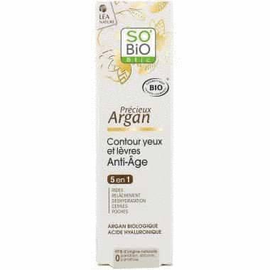 Anti-Age - Argan - Contour Yeux et Lèvres