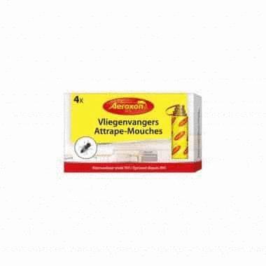 Rubans Attrape-Mouches - Débarrasse des mouches - 4 pièces