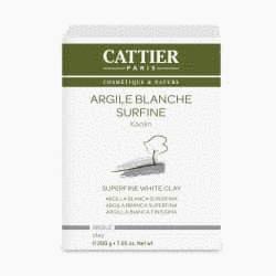 Argile Blanche surfine - 200g -Cattier