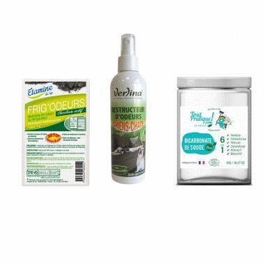 Stop aux mauvaises odeurs - Pack Toutpratique