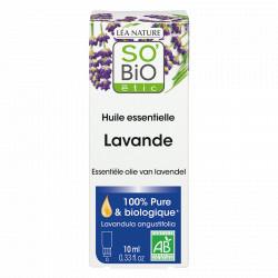 Lavande - Huile Essentielle 15 ml So'Bio étic- Cicatrisant-Relaxante-Insomnie