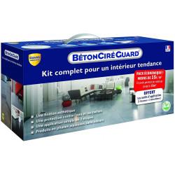 Kit Beton Ciré Guard - Gris Anthracite - complet + outils d'application gratuit- 16m²