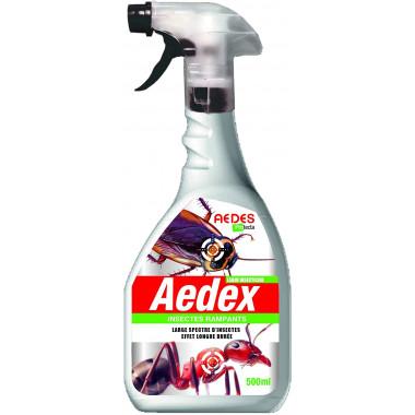 Laque insecticide cafard longue durée Aedex
