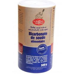 Bicarbonate de Soude Alimentaire - 500 g - La Droguerie écologique