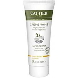 Crème mains sèches argile - 75 ml-Cattier