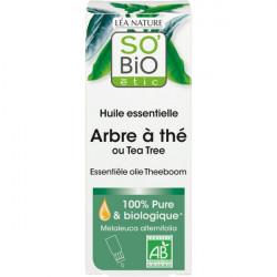 Huile essentielle Arbre à thé bio 15ml So Bio étic