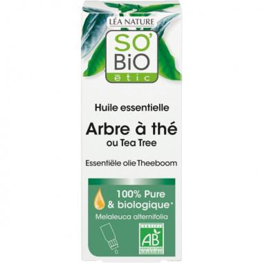 huile d'arbre à thé antiseptique anti parasite So'Bio étic