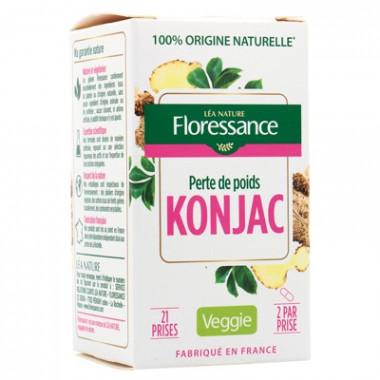 Gélule Konjac - Coupe faim végétal 42 gélules- Floressance Toutpatique