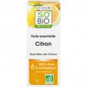 Huile essentielle Citron bio - 15 ml - Purifiante, Antiseptique