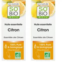 Huile essentielle Citron bio - 30 ml - Lot de 2 x 15 ml