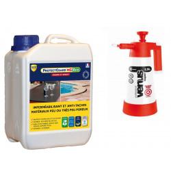Imperméabilisant Anti-Tache Marbre Granite-ProtectGuard MG Eco 2L- traite 40m² + Pulvérisateur basse pression