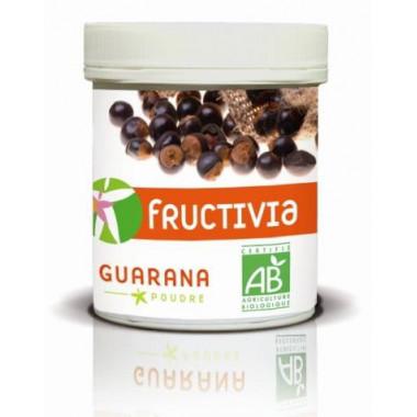 Guarana en poudre - 100% BIO Fructivia - Pot de 100g