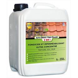 Anti Dépôt Vert Guard 2en1- bidon 5 L - traite 250 m² - Nettoie et imperméabilise - anti salissure