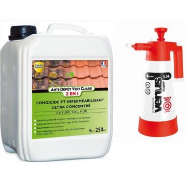 ANTI-DEPOT VERT 500 - 5L + Pulvérisateur basse pression