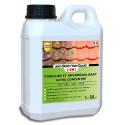Guard Industrie Anti Dépôt Vert Guard 2en1 Nettoyant Imperméabilisant Invisible Anti Champignon Lichen-Tous Matériaux- 1L -50m²