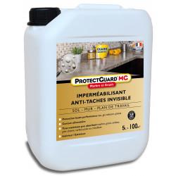 Imperméabilisant Marbre Granit - ProtectGuard MG - 5L - anti tache - traite 100 m²