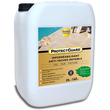 Guard-Industrie-ProtectGuard-Impermeabilisant-Invisible-Oleofuge-Anti-Graffiti-Pierres-Poreuses-Biodégradable-20-litres-125-m