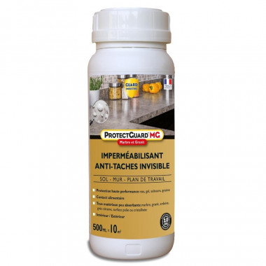 Imperméabilisant-marbre-granite-ProtectGuard-MG-500ml-anti-tache-traite-10 m²