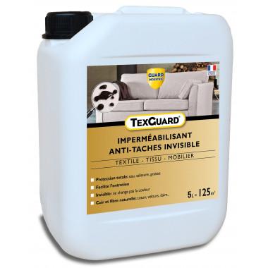Protection anti taches tissus ou cuir - TEXGUARD 5L (+ pulvérisateur) - jusqu'à 100m²