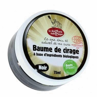 Baume cirage incolore 75ml certifié Ecocert