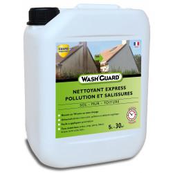 Wash'Guard - Nettoyant exterieur professionnel - Désincrustant - 5L - jusqu'à 30m²