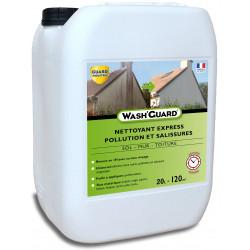 Wash'Guard - Nettoyant désincrustant - Désinfectant exterieur - 20L - traite 120m² - 4 bidons de 5L