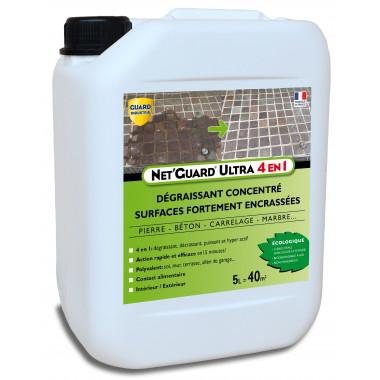 Net'Guard ULTRA 4 en 1 - Puissant Nettoyant - Décrassant - Hyper Actif - Polyvalant