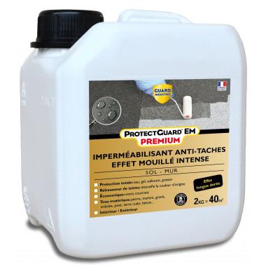 Imperméabilisant antitache Effet mouillé intense - ProtectGuard EM 2L - Jusqu'à 40m² sol et terrasse