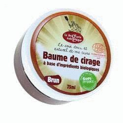Baume cirage brun bio - 75ml