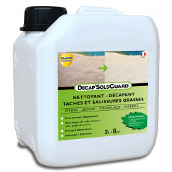 Décapant nettoyant pour sols, dalles, terrasses-DécapSols Guard® Ecologique 2L