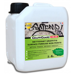 Nettoyant anti graffiti- GraffiGuard 2030® Ecologique 2L - traite 4m²
