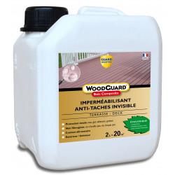 Guard Industrie Imperméabilisant Bois Composite Invisible Anti Tache - Woodguard Bois composite - 2L - traite 20m²