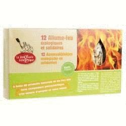 Allume-feu rapide - La Droguerie écologique-boîte de 12