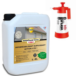 Imperguard ULTRA 4 en 1 - 5L -jusqu'à 40m² + Pulvérisateur basse pression