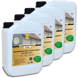 Imperguard ULTRA 4 en 1 - 20L - traite 160m² - 4 bidons de 5L