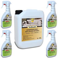 Nettoyer et proteger le tissu - traite 100m²