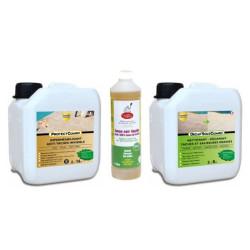 Nettoyer et imperméabiliser terrasse terre cuite - Pack Toutpratique - jusqu'à 15m²