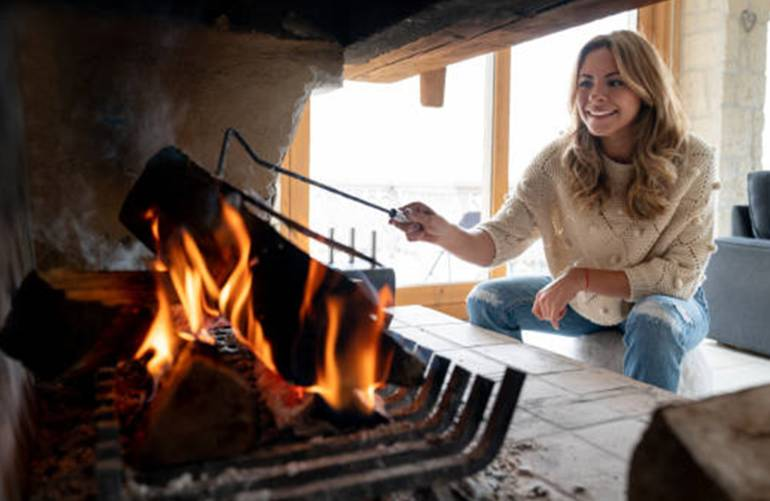 comment faire un beau feu de cheminée en toute sécurité