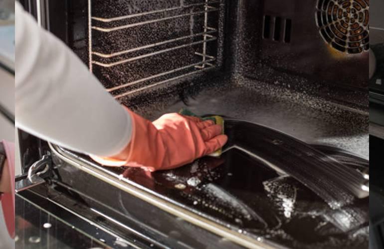 quelle astuce pour nettoyer four facilement après pyrolyses