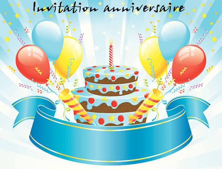 carte gratuite invitation anniversaire enfant