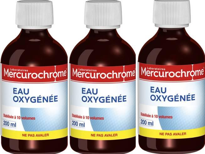 25 utilisations avec l'eau oxygénée