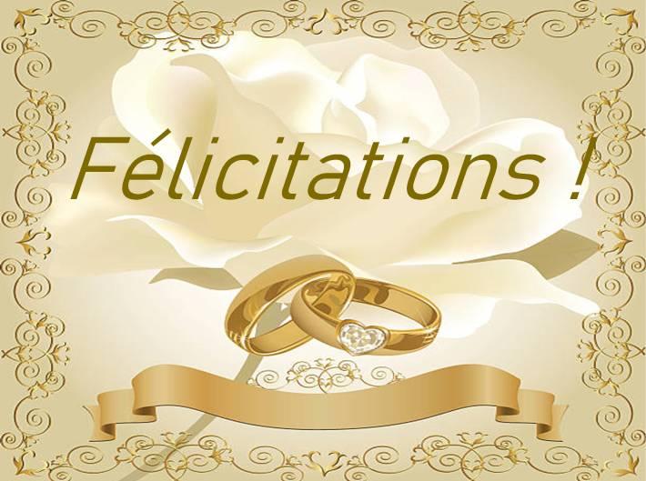 comment féliciter futurs mariés modèles textes gratuits félicitations mariage