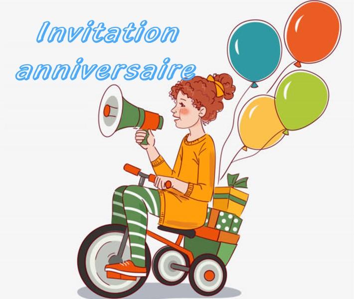 7 exemples de texte pour invitation anniversaire enfant