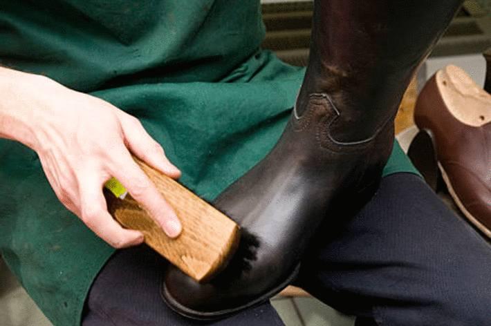 comment faire briller le cuir des bottes